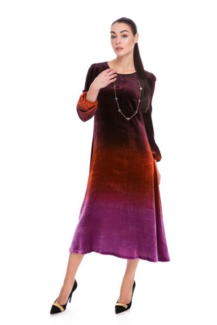 Платье женское длинное разноцветное Beatrice