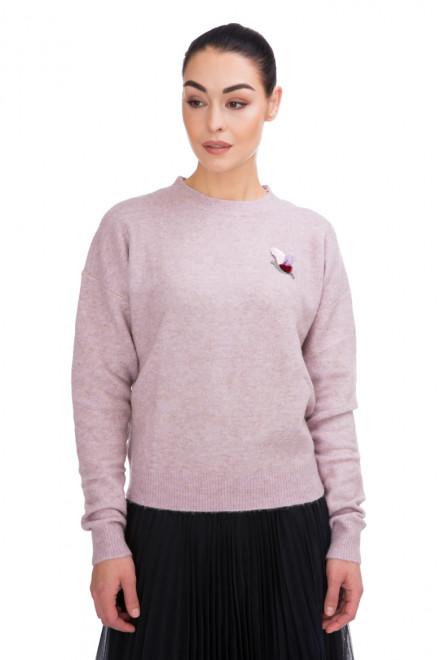 Пуловер женский  пудровый Miss Sixty