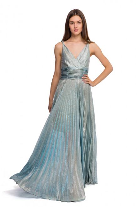 Платье цвета бирюзовый металлик Beatrice .b