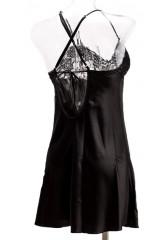 Ночная сорочка черная LingaDore  2