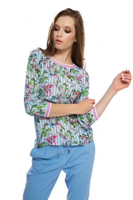 Блуза в цветочный принт Rich&Royal