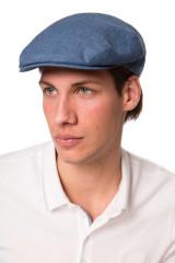 Кепка мужская синего цвета Borsalino 3