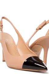 Босоножки женские на высоком каблуке с острым носом The Seller