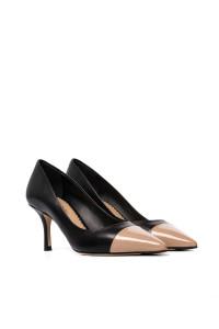 Туфли лодочки женские с контрастным носком The Seller