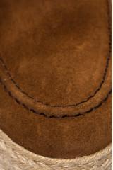 Лоферы из коричневой замши Ambitious 4