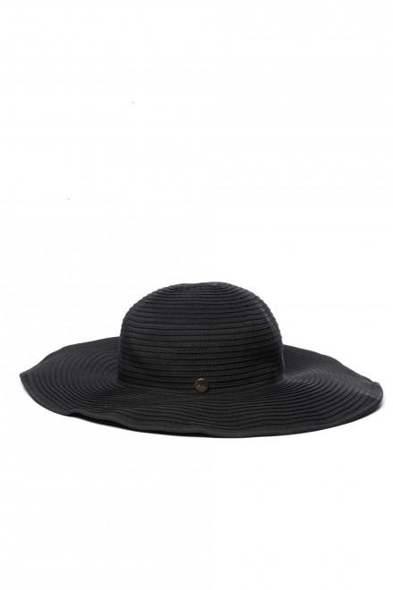 Шляпа женская с широкими полями черная Seafolly