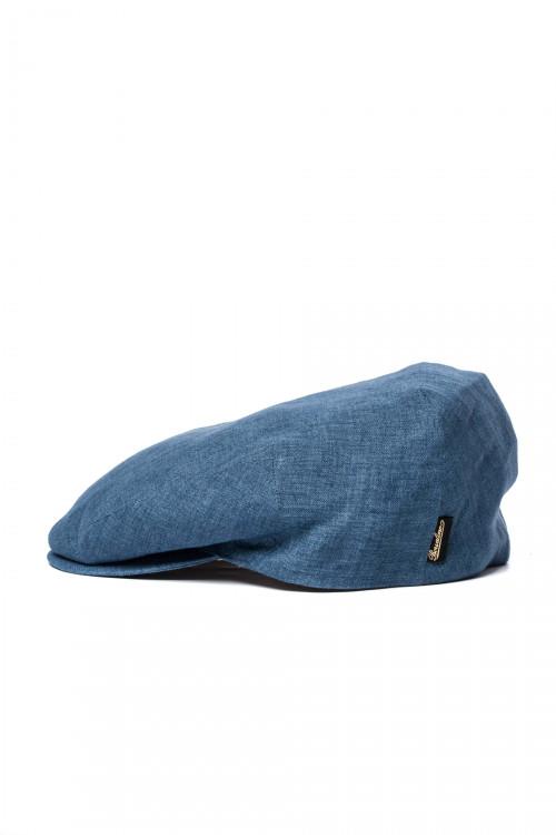 Кепка мужская синего цвета Borsalino