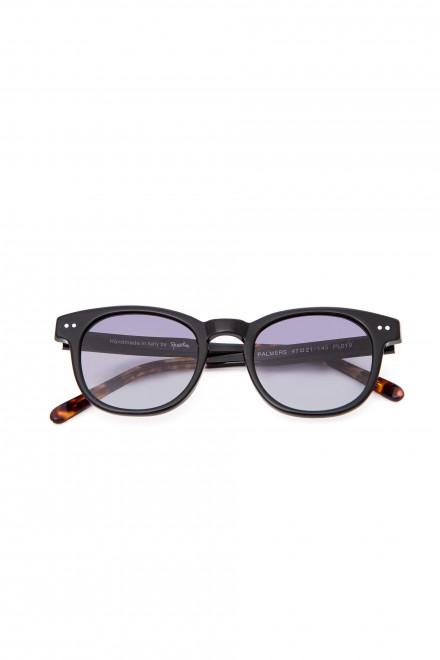 Солнцезащитные очки мужские с синими линзами в пластиковой оправе Spektre