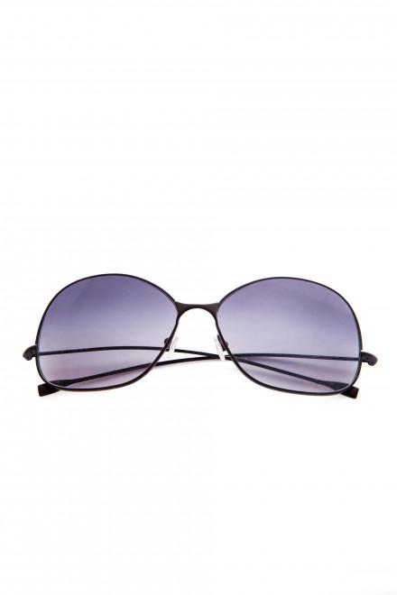 Солнцезащитные женские очки с cиними линзами в тонкой оправе Spektre