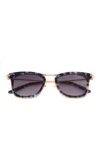 Солнцезащитные женские очки со коричневыми линзами в пятнистой оправе Spektre