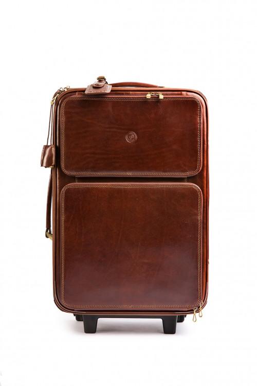 Кожаный чемодан «ручная кладь» Giudi