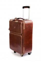Кожаный чемодан «ручная кладь» Giudi  3