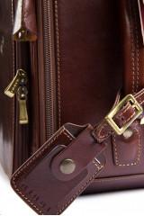 Кожаный чемодан «ручная кладь» Giudi  1