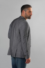 Мужской пиджак серого цвета Carl Gross 2