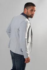 Серый трикотажный пиджак Carl Gross 1