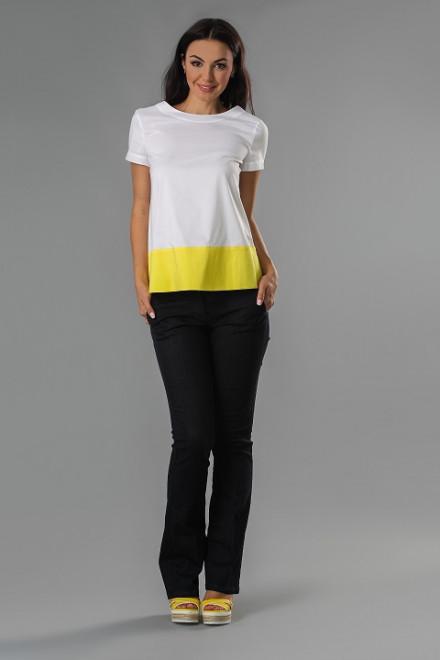 Блуза женская хлопковая двухцветная St.Emile