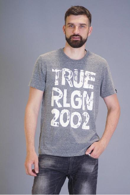 Футболка мужская с надписью True Religion