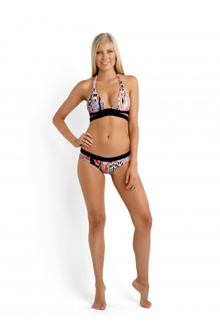 Плавки-бикини женские с прорезями по бокам Seafolly