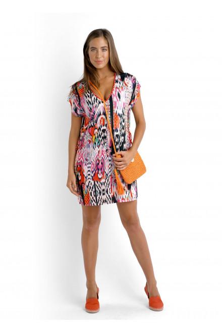Платье-туника пляжное цвет нектарин Seafolly