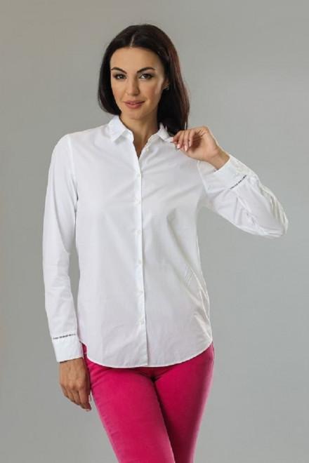 Женская блуза с длинным рукавом белая van Laack