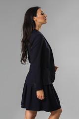 Жакет женский однобортный черного цвета van Laaсk