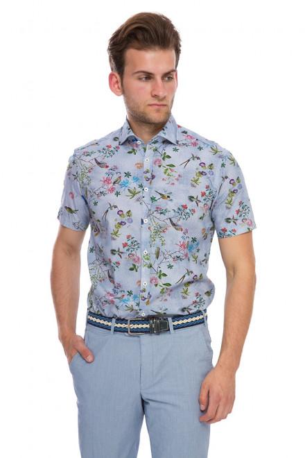 Рубашка мужская хлопок RIVAS-S-TF van Laack