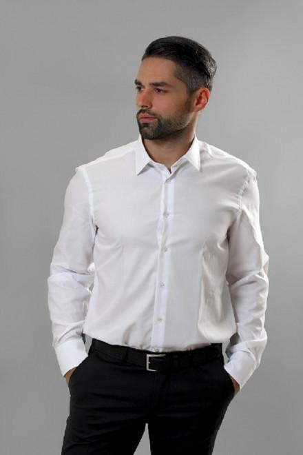 Рубашка мужская белого цвета van Laack