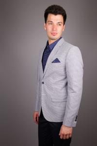Светло-серый пиджак Antony Morato