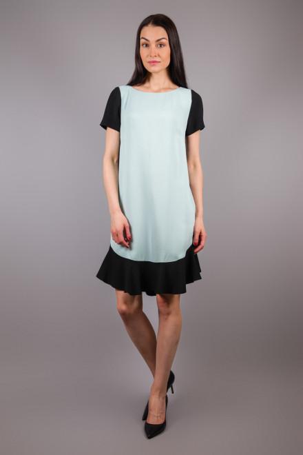 Платье с коротким рукавом и воланом свободного кроя Beatrice b