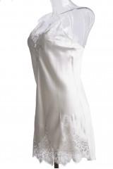 Ночная рубашка белая Luna di Seta 3