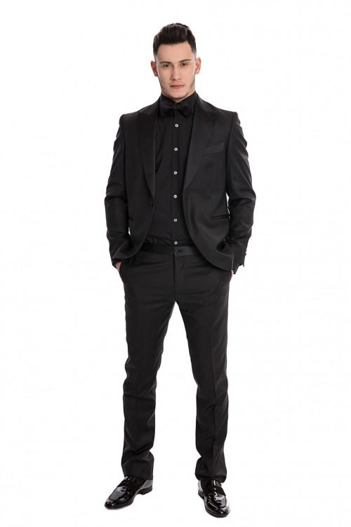 Смокинг мужской черный Ottavio Nuсcio