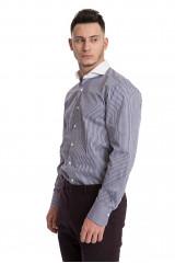 Рубашка van Laack с контрастным срезанным воротником