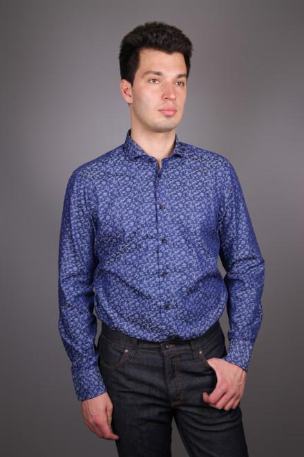 Рубашка мужская растительный принт van Laack