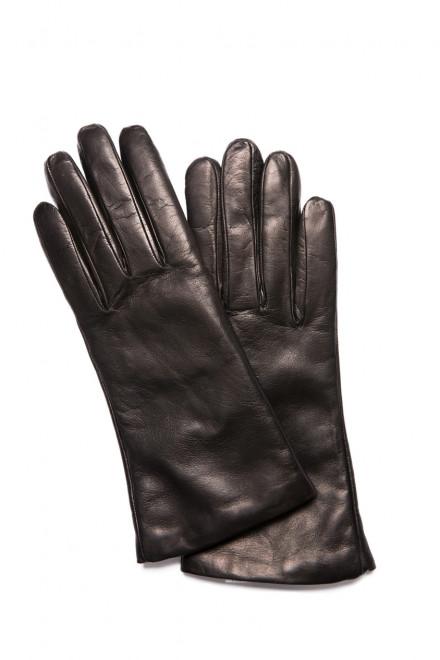 Перчатки черного цвета Sermoneta Gloves