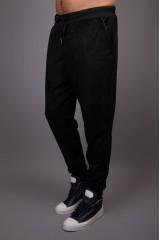 Брюки черного цвета на шнурке зауженные Hamaki-Ho