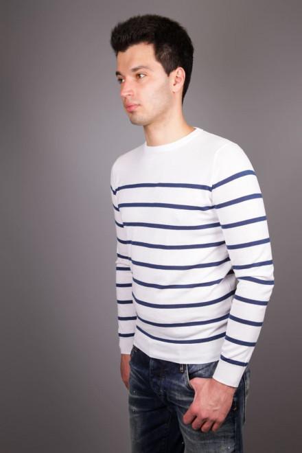 Пуловер мужской в тонкую полоску Antony Morato