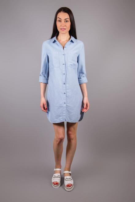 Платье-рубашка женское светло-голубая River Woods