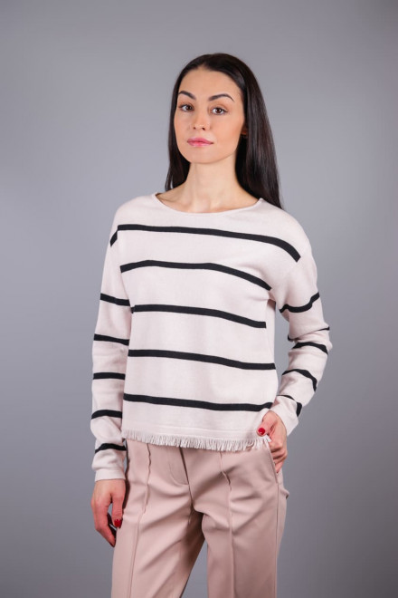 Пуловер жіночий смугастий Luisa Cerano