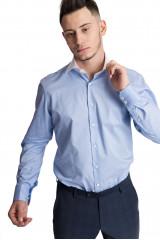 Рубашка мужская голубого цвета хлопковая RIVARA-TF van Laack
