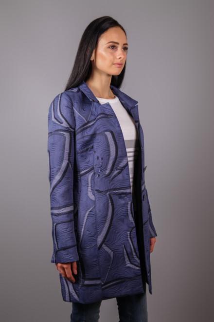 Пальто женское синее Creenstone