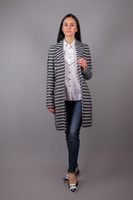 Пальто женское полосатое Creenstone