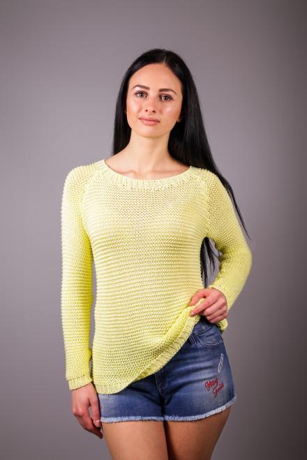 Пуловер женский свободного кроя с круглым вырезом Kocca