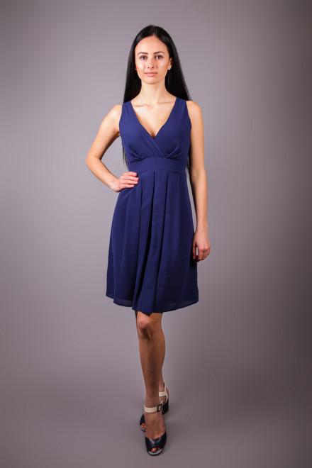 Платье женское без рукавов синего цвета Kocca