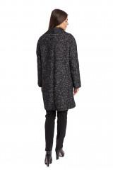 Пальто женское черное Luisa Cerano 1