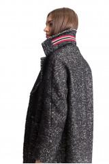 Пальто женское черное Luisa Cerano 3