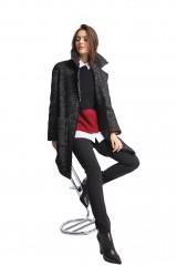 Пальто женское черное Luisa Cerano 4