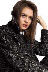 Пальто женское черное Luisa Cerano 6