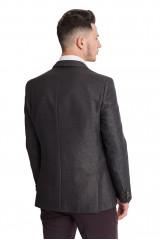 Темно-серый клетчатый пиджак Carl Gross 3