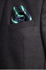 Темно-серый клетчатый пиджак Carl Gross 4