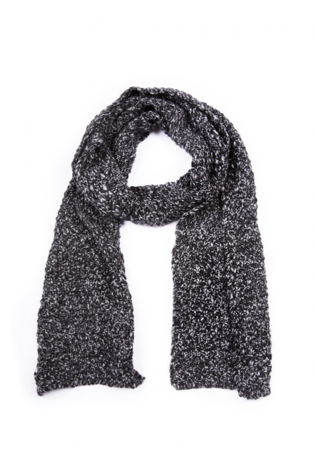 Шарф мужской серый фактурный Wool&Co